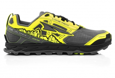 Altra Lone Peak 4 Shoes Grey Yellow