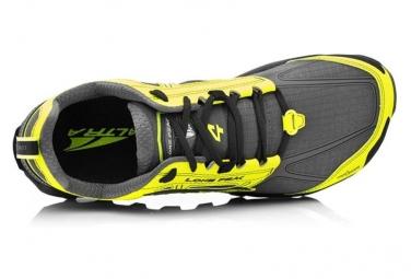 Chaussures de Trail Altra Lone Peak 4 Gris / Jaune