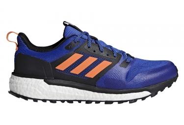 Chaussures de Trail adidas running Supernova Trail Noir Bleu