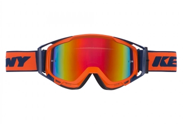Masques Kenny Performance Iridium Orange Fluo / Bleu