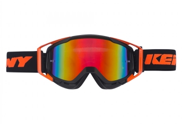 Masques Kenny Performance Iridium Noir / Orange Fluo