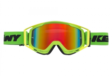 Masques kenny performance iridium vert jaune fluo