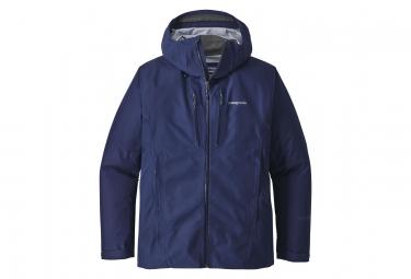 Veste coupe vent impermeable patagonia triolet gtx bleu l