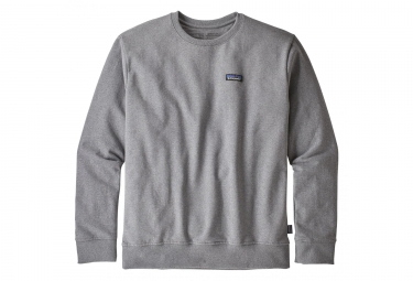 Sweat Patagonia P-6 Label Uprisal Crew Gris