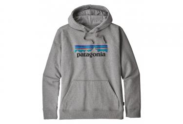 Patagonia  P-6 Logo Uprisal Hoody Gris