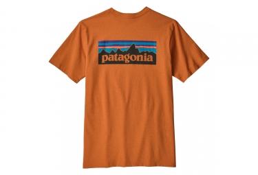 Patagonia  P-6 Logo Responsibili-Tee Orange