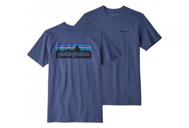 T-Shirt Patagonia P-6 Logo Responsibili-Tee Bleu