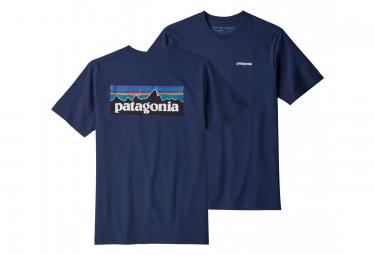 Patagonia P-6 Logo Responsibili-Tee Azul