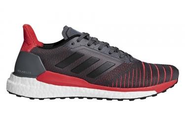 Zapatillas adidas running Solar Glide para Hombre Gris / Rojo