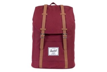 Herschel Retreat Backpack Windsor Wine/Tan Synthetic Leather