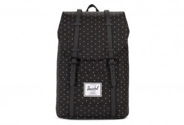 Herschel Backpack Retreat Black Gridlock / Gold