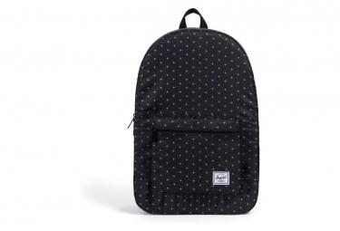Herschel Backpack Packable Daypack Black Gridlock / Gold