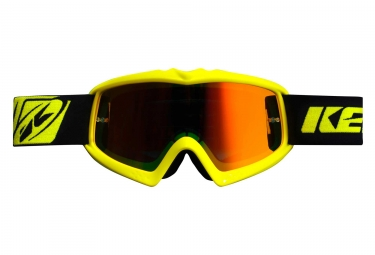 Kenny Performance Iridium Kid Goggles Neon Yellow