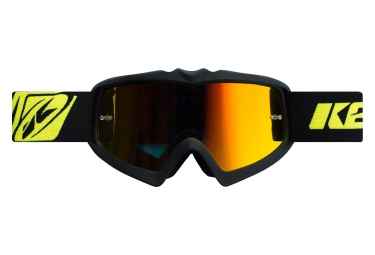 Kenny Performance Iridium Kid Goggles Matte Black
