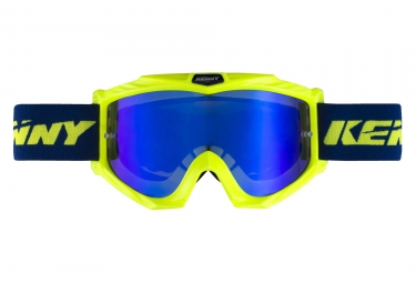 Kenny Track + Iridium Goggles Neon Yellow / Blue