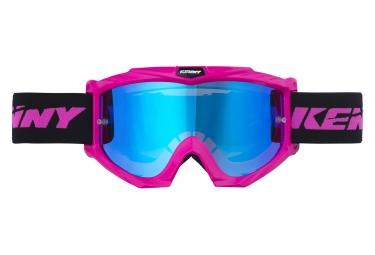 Máscara Kenny Track + pink blue Miroir