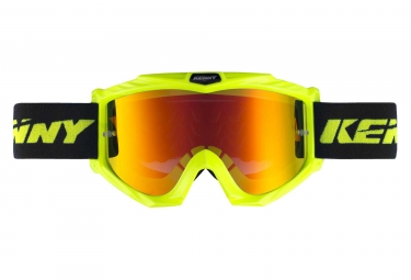 Kenny Track + Iridium Goggles Neon Yellow