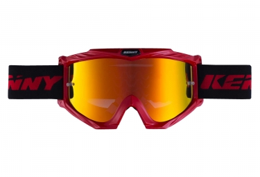 Kenny Track + Iridium Goggles Red