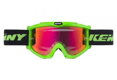 Masques kenny track vert fluo adulte