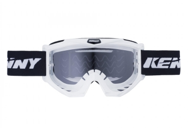 Masques kenny track blanc adulte