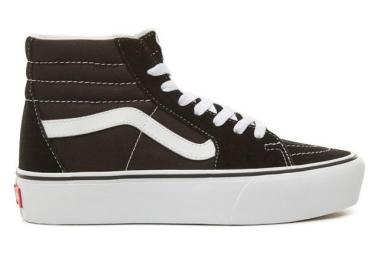 Chaussures Vans UA SK8-HI Platform 2 Noir / Blanc