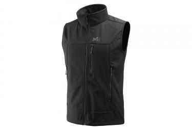 Millet Track Sleeveless Jacket Black
