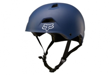Casque bol fox flight sport bleu slate l 57 58 cm