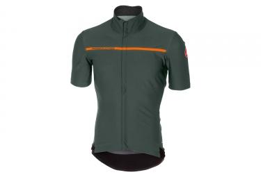 Castelli Gabba 3 Short Sleeves Jersey Forest Gray