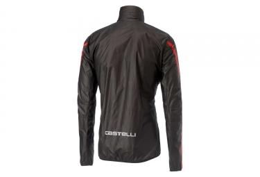 Veste Coupe-Vent Imperméable Castelli Idro 2 Noir