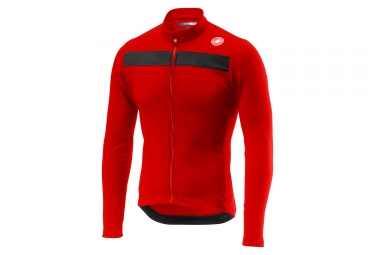Maillot Manches Longues Castelli Puro 3 Rouge