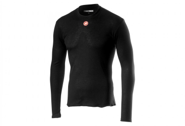 Castelli Prosecco R Long Sleeves Baselayer Black