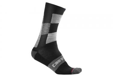 Castelli Diverso 2 18 Winter Socks Nero