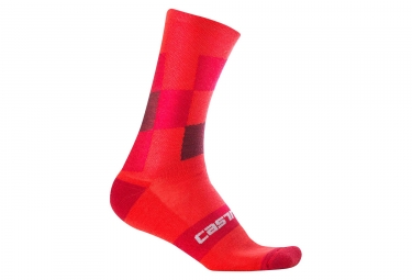 Castelli Diverso 2 18 Winter Socks Red
