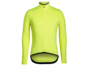 Maillot Manches Longues BONTRAGER 2017 Velocis Thermal Jaune Fluo