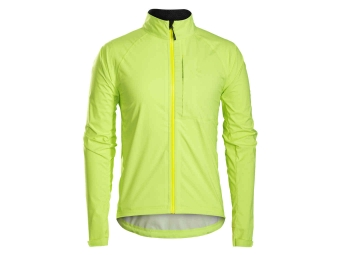 Waterproof Jacket BONTRAGER 2017 Circuit Stormshell Neon Yellow