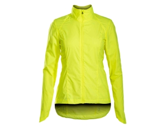 Women Windproof Jacket BONTRAGER 2017 Vella Windshell Neon Yellow