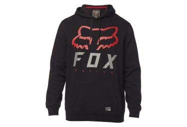 Fox Hoodie PO Heritage Forcer Fleece Black