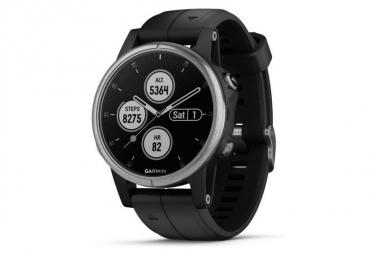 Montre de Sport Garmin Fenix 5S Plus Argent / Noir