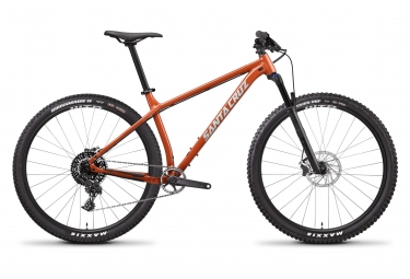 Velo semi rigide santa cruz chameleon d 29 sram nx 1x11 vitesses orange 2019 m 166 1