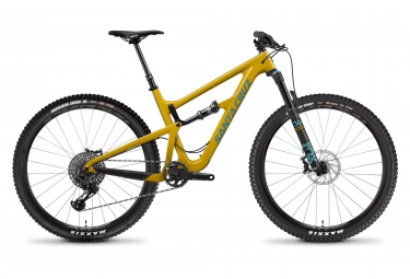 Velo tout suspendu santa cruz hightower s carbon c 29 sram gx eagle 12v mustard 2019