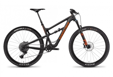 Velo tout suspendu santa cruz hightower s carbon c 29 sram gx eagle 12v noir 2019 m