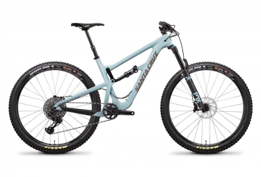 Velo tout suspendu santa cruz hightower lt carbon c 29 sram gx eagle 12v bleu 2019 l