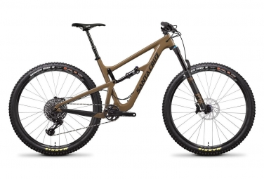 Velo tout suspendu santa cruz hightower lt carbon c 29 sram gx eagle 12v marron 2019