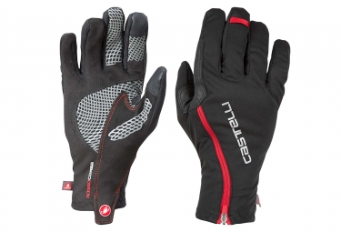 Castelli Spettacolo RoS Winter Gloves Black Red
