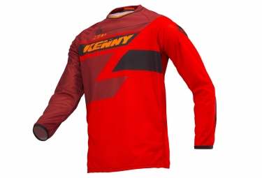 Kenny Track Long Sleeves Jersey Red