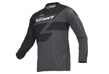 Maillot manches longues kenny track noir gris s