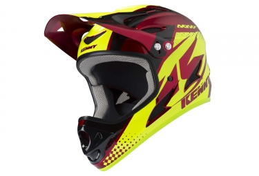 Casque kenny downhill rouge m 57 58 cm
