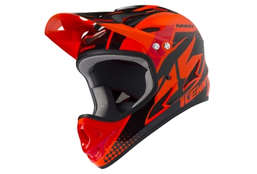 Casque kenny downhill orange s 55 56 cm