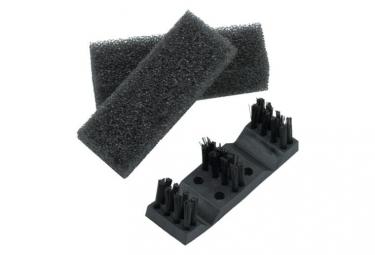 Ice toolz brosse et eponge de rechange pour nettoyeur de chaine c113 c115
