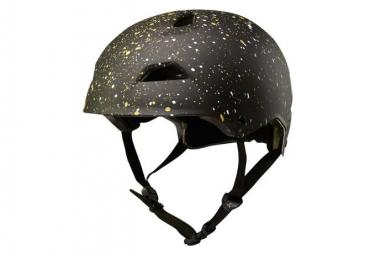 Fox Flight Splatter Helmet Black / Gold